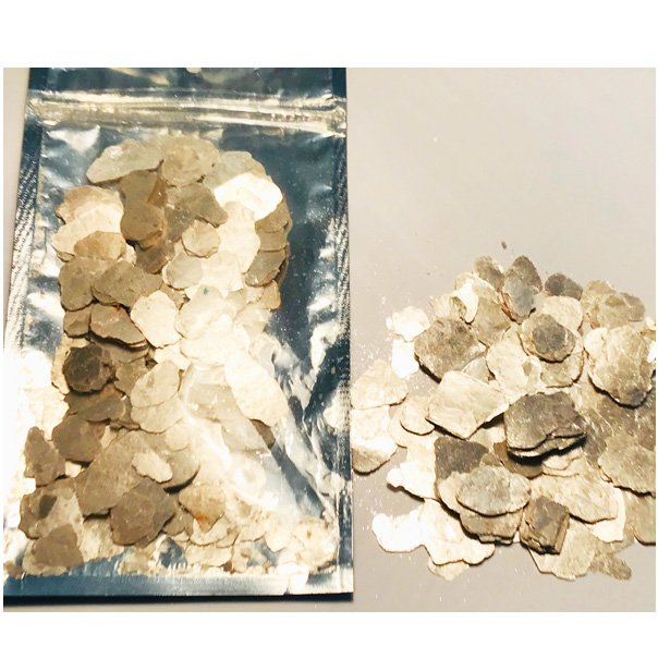 """Champagne Pearl-(1/2"""" - 2"""") Shiny Natural Mica Mineral 33 gram Pouch $11.99"""