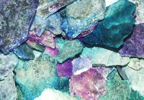 ".Moonlight Bling It-Moon Rocks-""Painted""-Natural Mica"