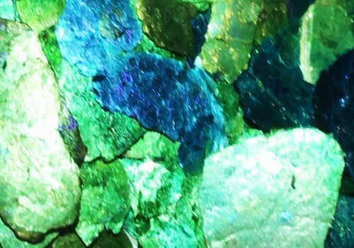 """.Poseidon's Grotto Bling It-Moon Rocks-""""Painted""""-Natural Mica"""
