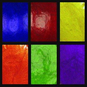 """BIG"" Color Wheel, Primary Elements 6pc Set 30ml Jars. List $65.94"