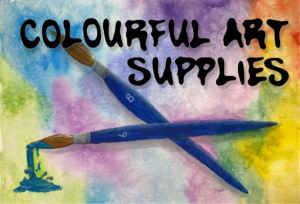 Colourful Art Supplies Logo