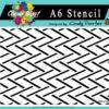 Weave - A6 Stencil